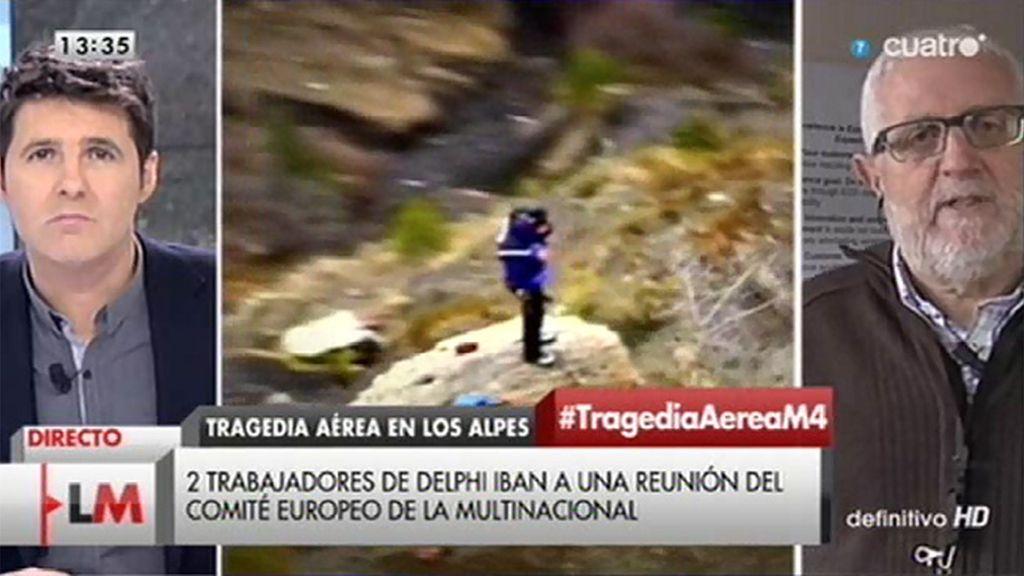 José María habla de su amigo Rogelio, víctima del accidente de Germanwings