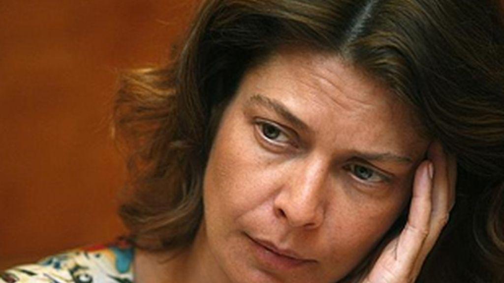 Lucía Figar ha defendido una política educativa que ha sacado a la calle a miles de profesores. FOTO: EFE/Archivo