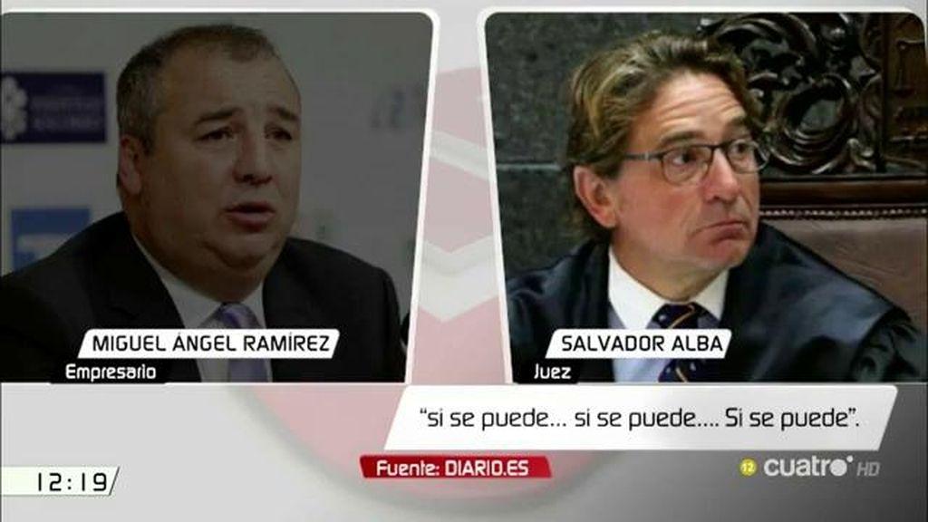 Las grabaciones del juez Alba y un imputado para fabricar una declaración contra Rosell