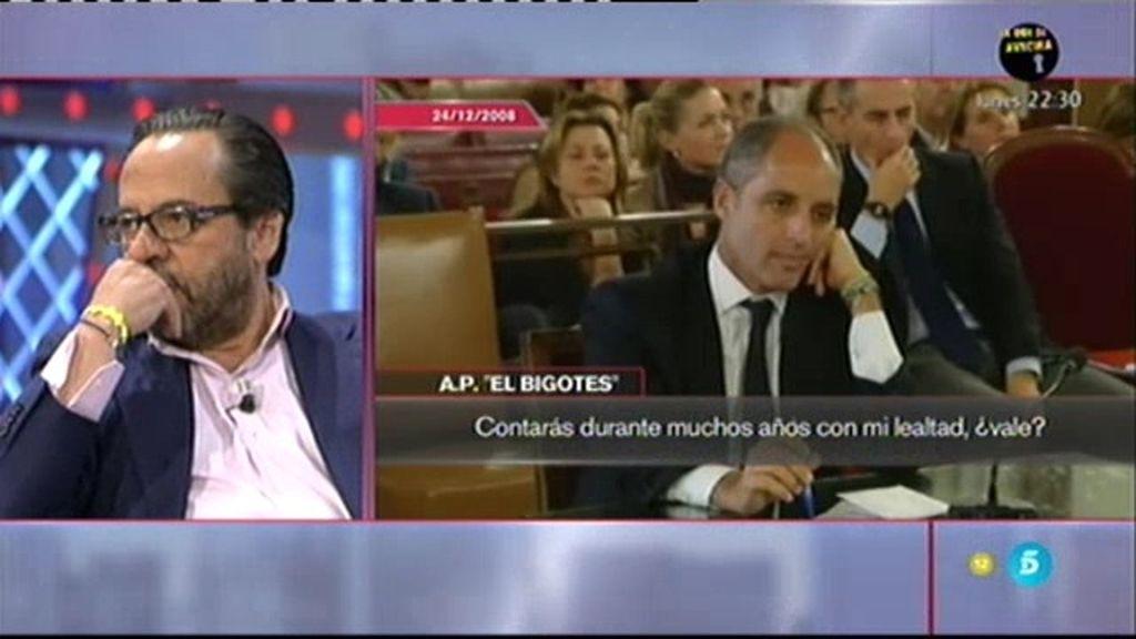 Las grabaciones de Álvaro Pérez con Francisco Camps y su mujer