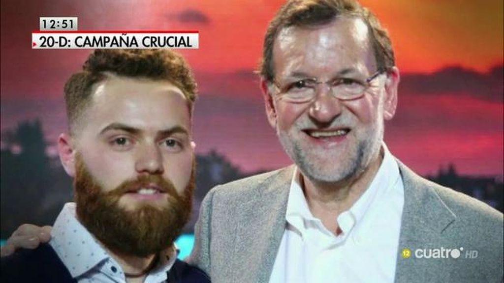 El 'hipster' de Rajoy es de Nuevas Generaciones del PP, taurino, rociero y cofrade