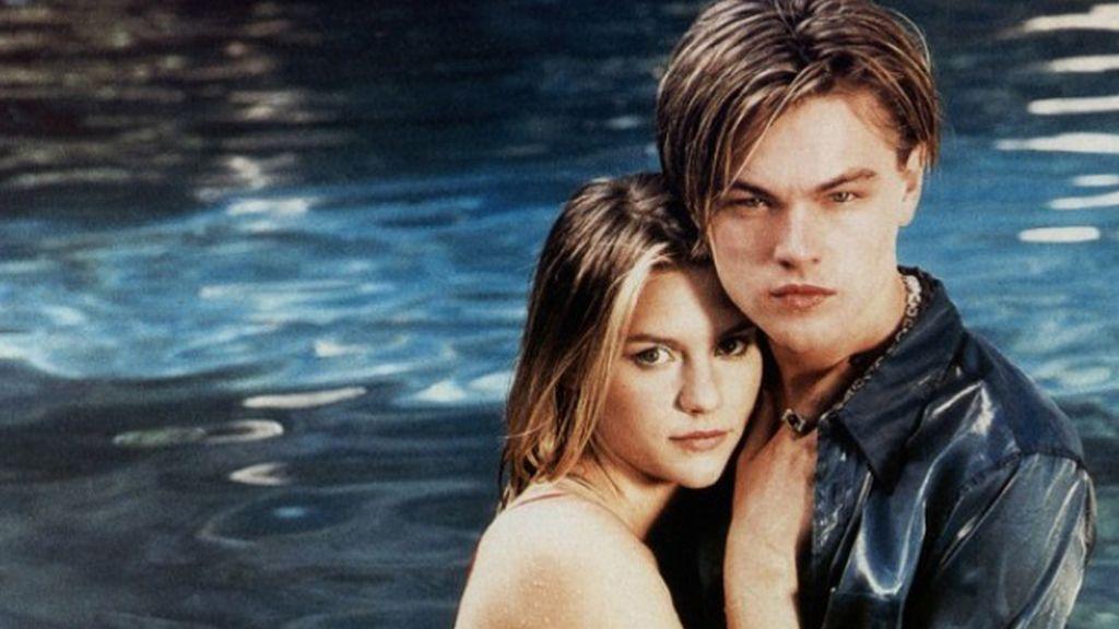Claire Danes y Leonardo DiCaprio