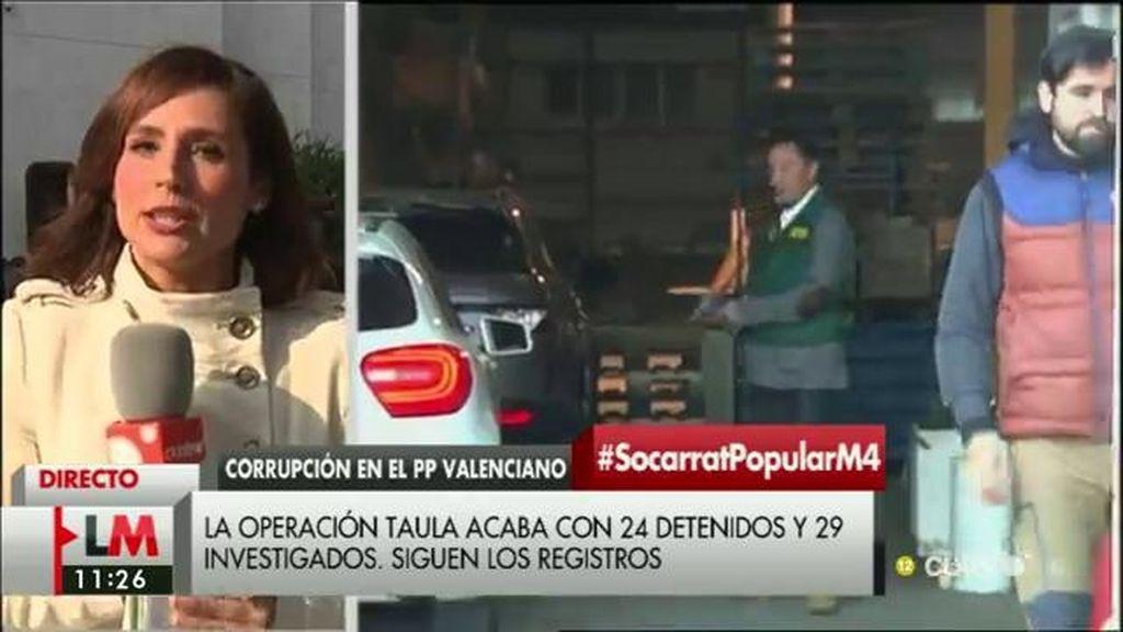 24 detenidos, 29 investigados y 33 registros en la Operación Taula