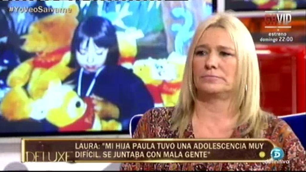 """Laura: """"Paula empezó a tontear con las drogas y el alcohol a los 13 años"""""""