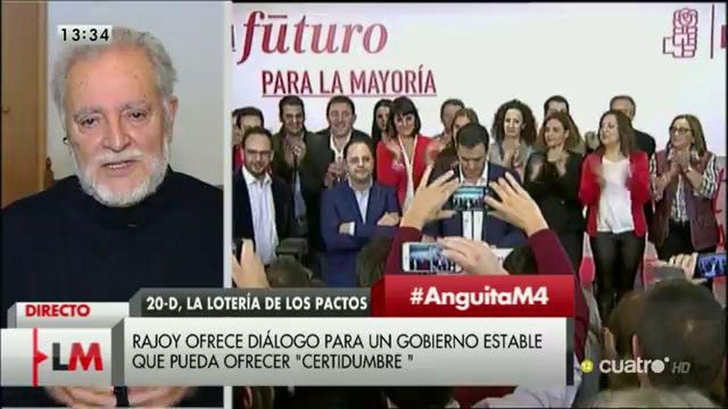 La entrevista a Julio Anguita, a la carta