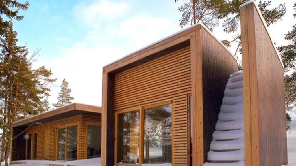 la arquitectura finlandesa en armonía con la naturaleza