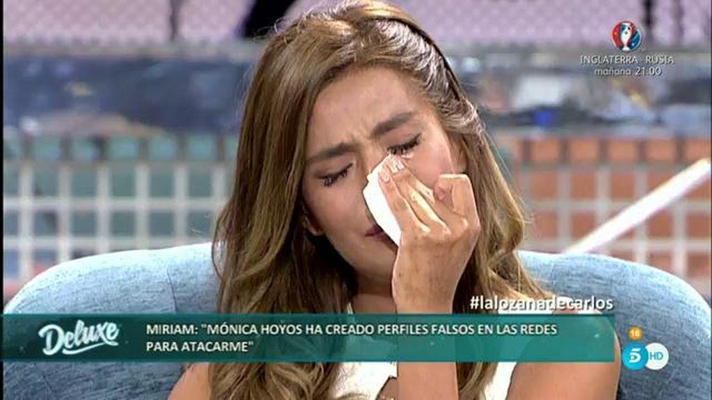 """Miriam teme que se deteriore su relación con Carlos: """"Éramos más felices antes que ahora"""""""