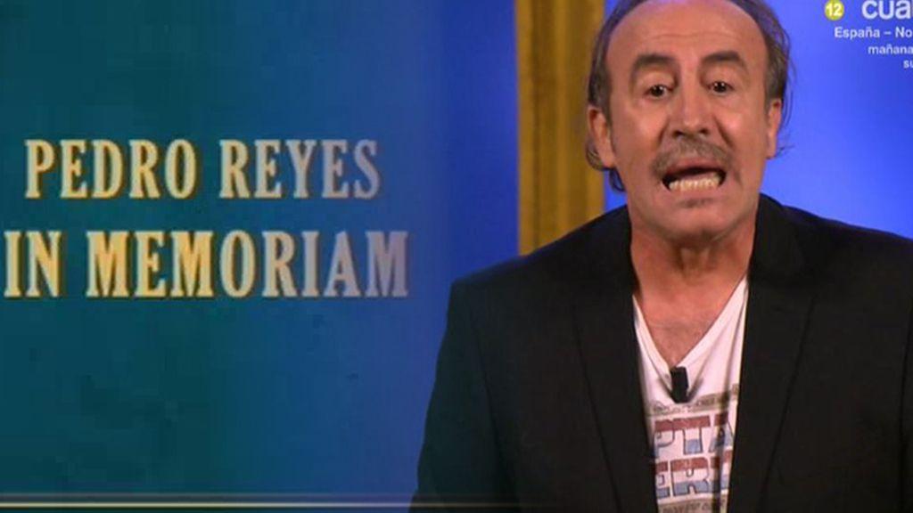 El último monólogo de Pedro Reyes
