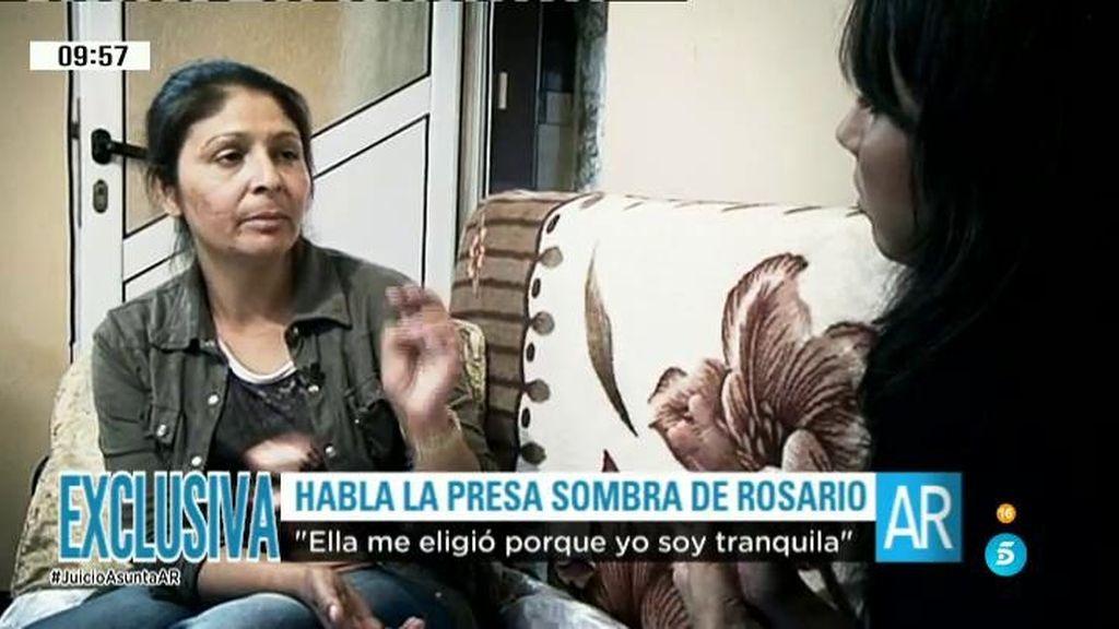 """Marinela, presa sombra de Rosario: """"Me decía que a ver si encontraban al culpable"""""""