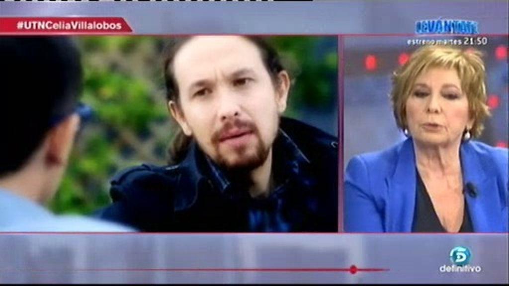 """Celia Villalobos: """"El propósito de Podemos es acabar con el sistema democrático"""""""