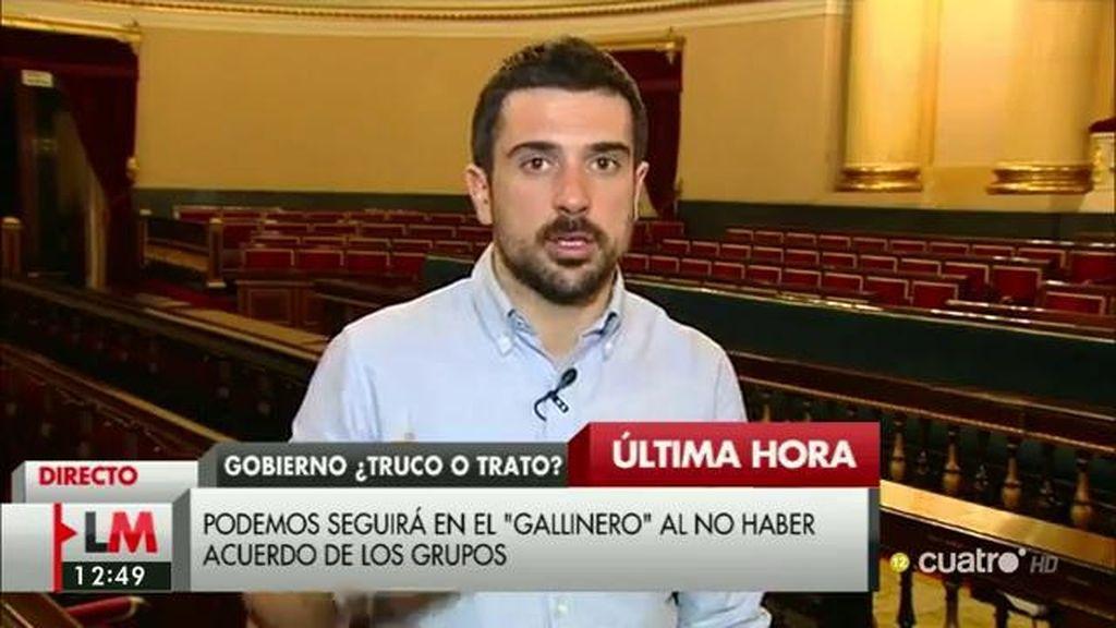 """Ramón Espinar: """"El PSOE tiene que elegir entre que siga gobernando la corrupción o un gobierno de cambio"""""""