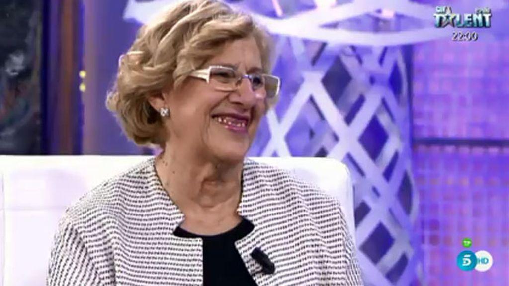 """Carmena: """"Soy una enamorada de la vida"""""""