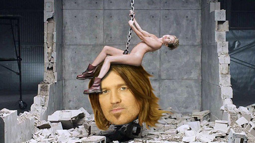 """Parodias del desnudo de Miley Cyrus en """"Wrecking Ball"""""""