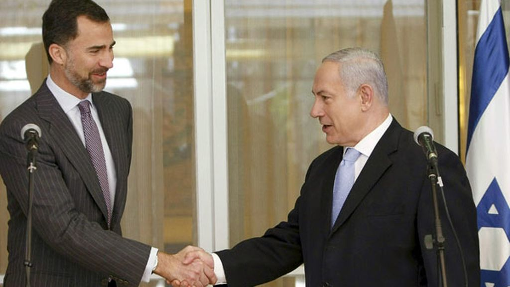 Don Felipe y Netanyahu
