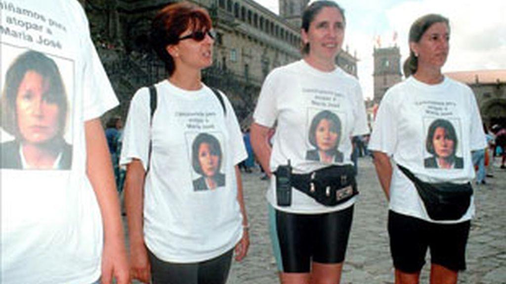 La familia de María José Arcos, la desparecida hace 15 años.