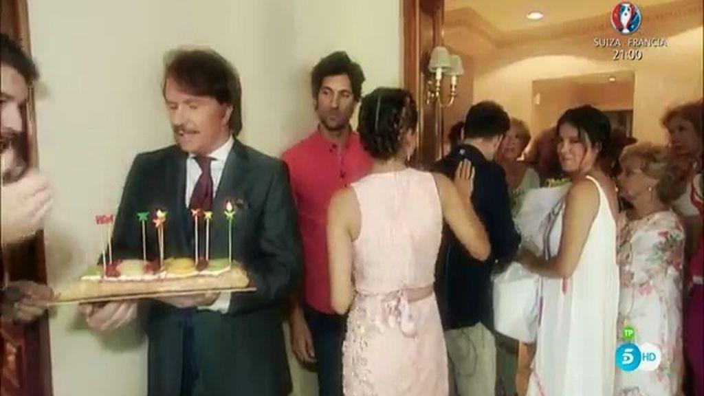 Así se preparó el cumpleaños sorpresa de María Teresa Campos
