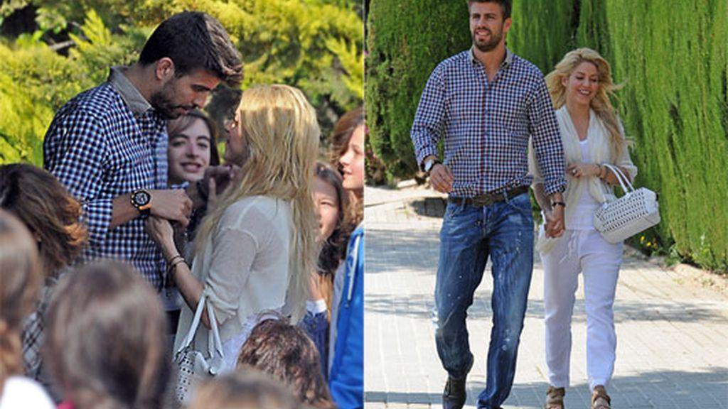 2011: Las imágenes de Piqué y Shakira, una de las más buscadas en la prensa rosa