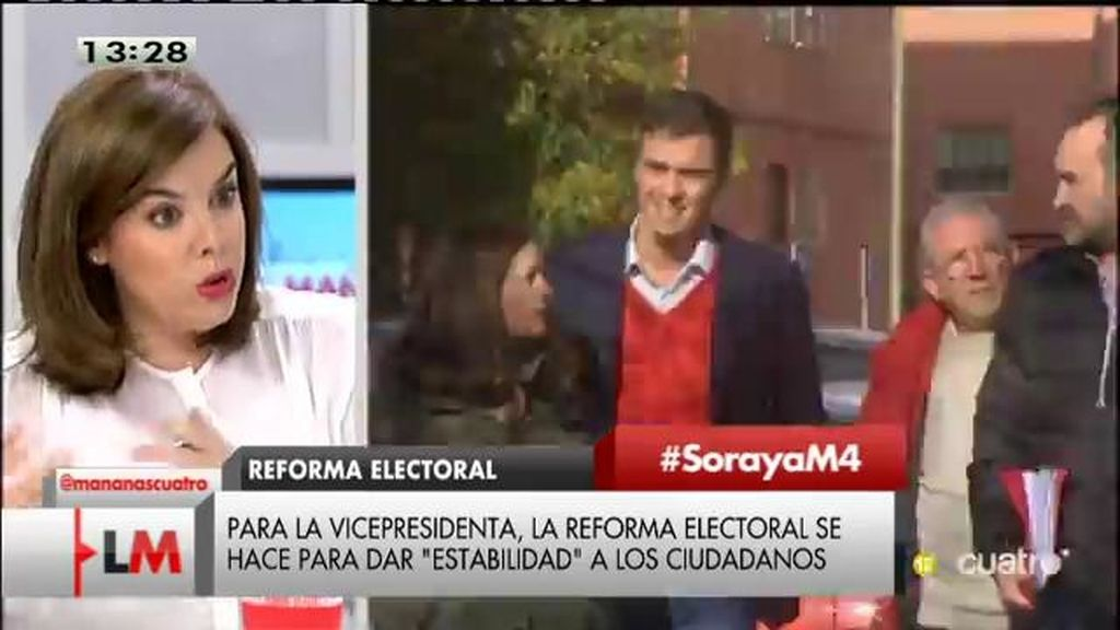 """""""Entiendo que a Sánchez le cueste explicar que pacta con Podemos para, con un pacto de perdedores, obtener un ayuntamiento"""""""