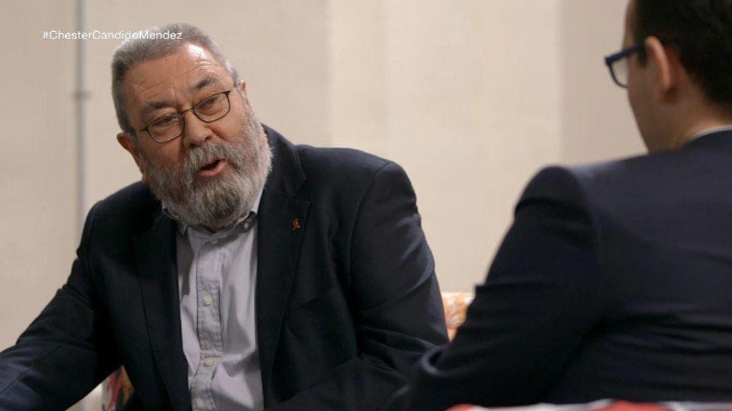 """Cándido Méndez: """"No me voy a presentar a la reelección, eso no es una dimisión"""""""