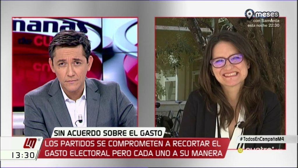 La entrevista de Mónica Oltra, a la carta