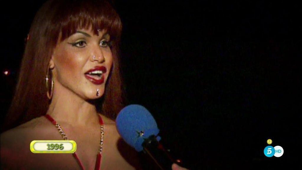 La 1ª aparición en televisión de 'La Veneno' fue en 'Esta noche cruzamos el Mississippi'