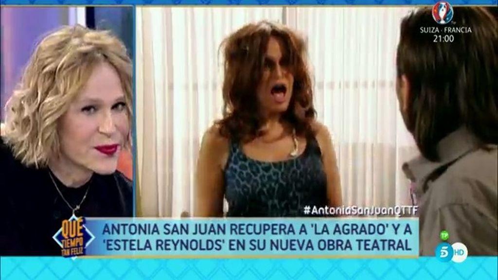 """Antonia San Juan: """"La gente se piensa que soy como el personaje y me ofrecen whisky"""""""