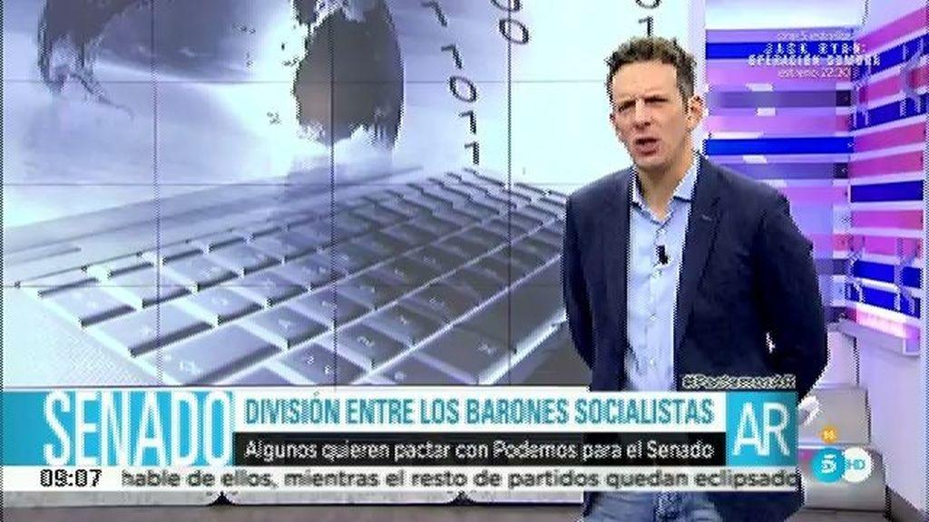División entre los barones socialistas