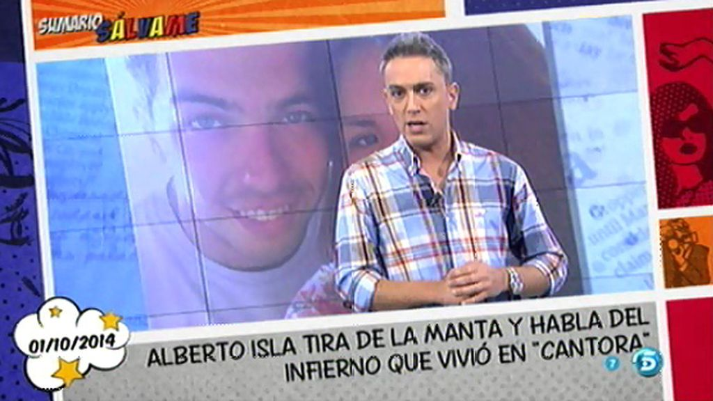 "Kiko H.: ""Alberto Isla está a punto de reventar"""