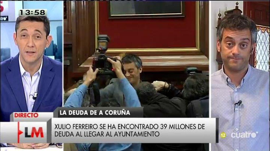 El ayuntamiento de A Coruña ha tenido que pedir un préstamo para pagar sus facturas