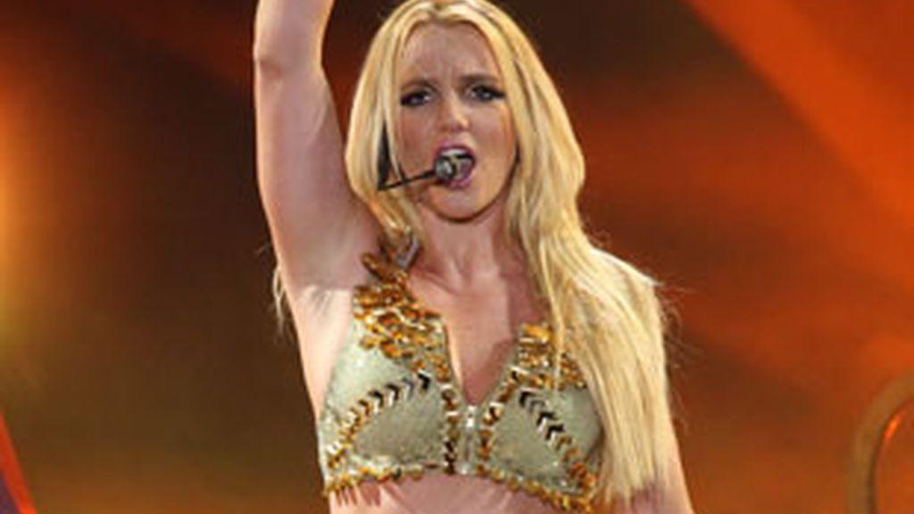 Britney Spears en un concierto en Moscú. Foto: Gtres