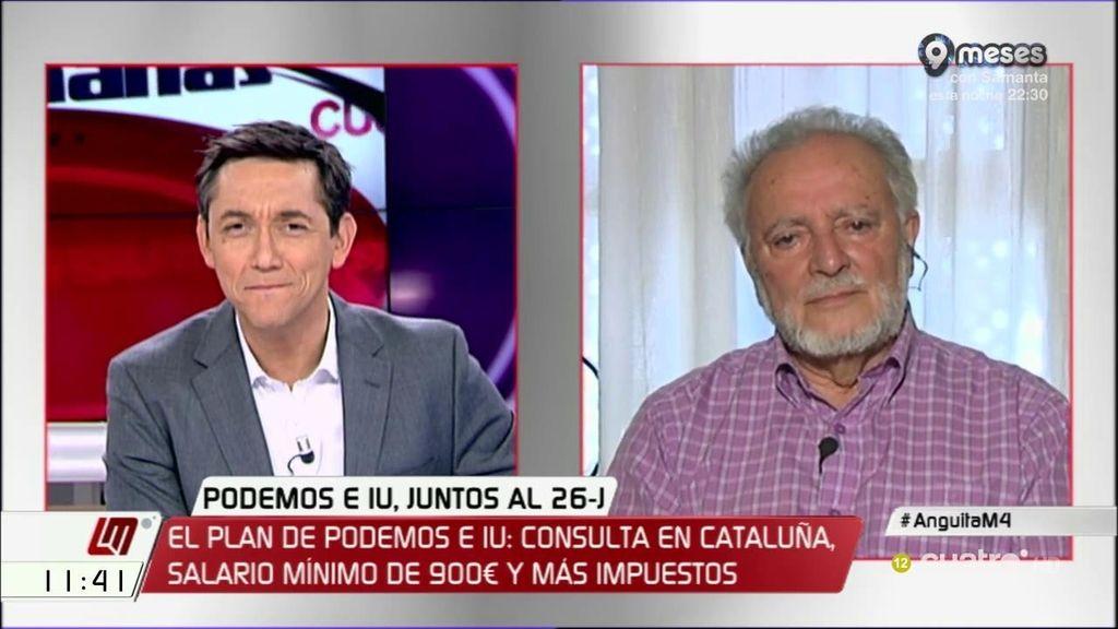 La entrevista de Julio Anguita, a la carta