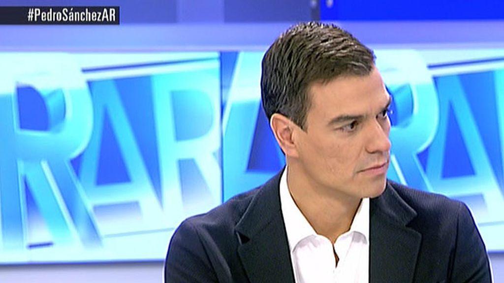 """P. Sánchez: """"Una mayoría de españoles cuenta los días para mandar a Rajoy a la cola del paro"""""""