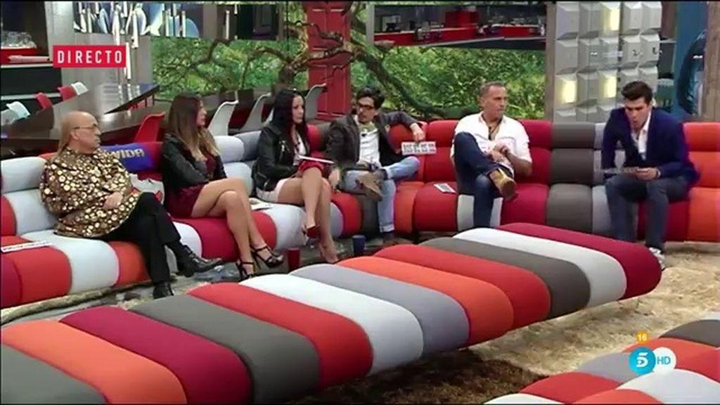 Los concursantes de 'Gran Hermano VIP' presentan sus alegatos en la recta final