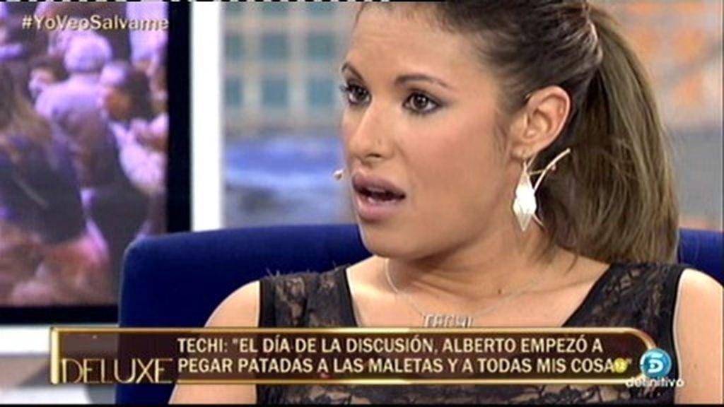 """Techi: """"He sentido miedo de Alberto Isla"""""""