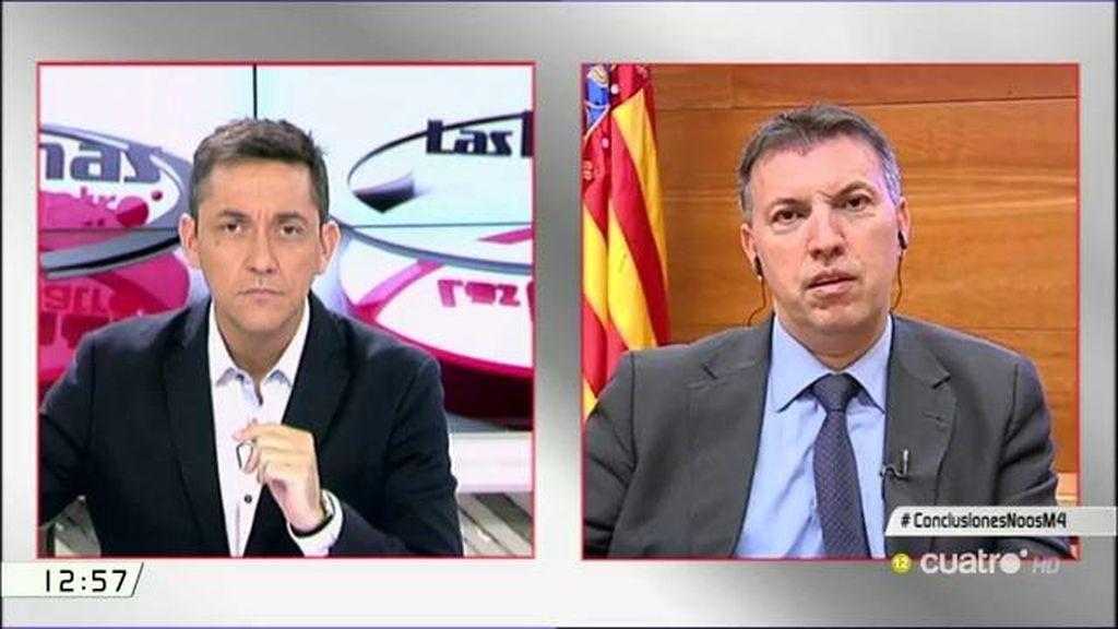 """Joaquim Bosch: """"El juez Castro no se merece esos ataques de la Fiscalía"""""""