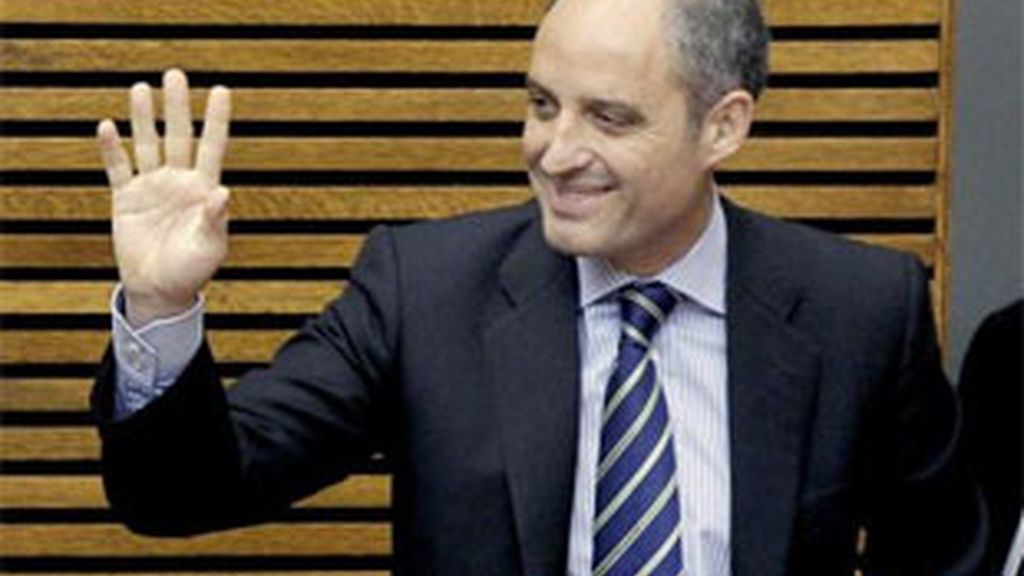 Imagen de archivo del presidente de la Generalitat, Francisco Camps. Foto: EFE.