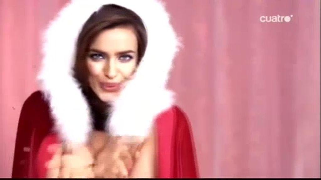 Navideña Irina Shayk