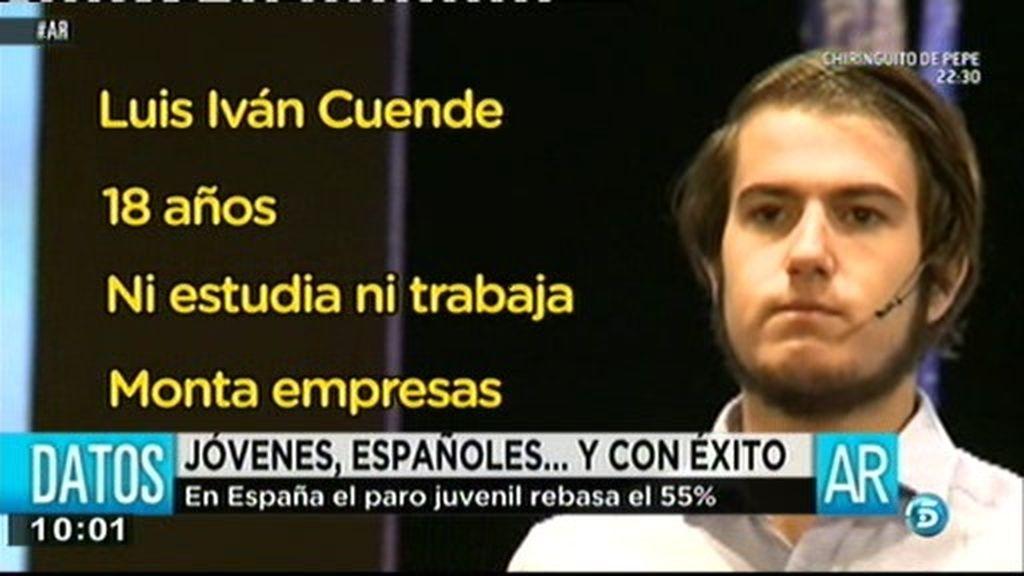 Jóvenes españoles…y con éxito
