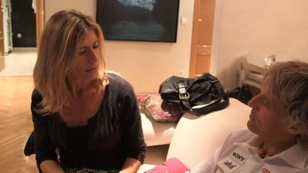 """Begoña, esposa de P. Sánchez: """"La vida no cambia, pero ahora hay más responsabilidad"""""""