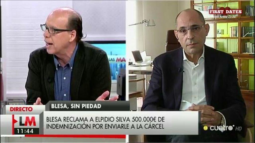 """Elpidio Silva, ante la demanda de Blesa: """"No hay base civil a lo que se plantea"""""""