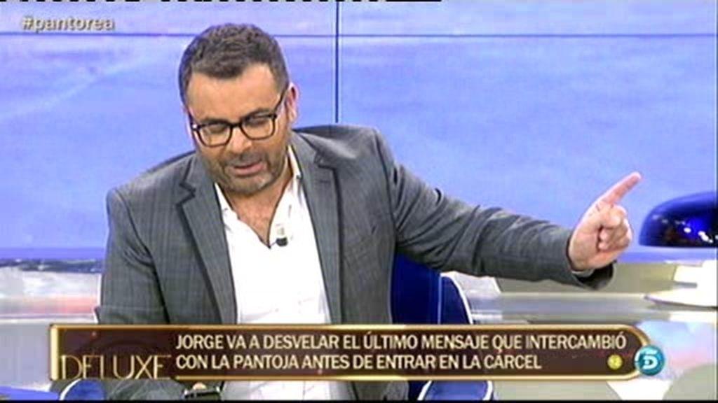 "Isabel Pantoja, a Jorge Javier Vázquez: ""Me extraña que ahora sea para ti Isabel"""
