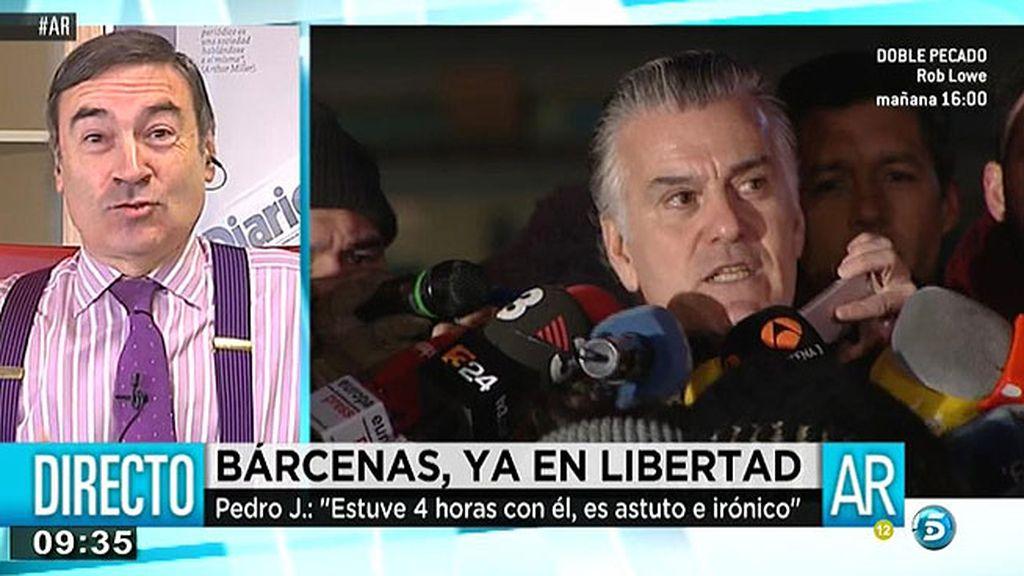 """Pedro J. Ramírez: """"No será creíble la lucha contra la corrupción si el candidato a las elecciones es Rajoy"""""""