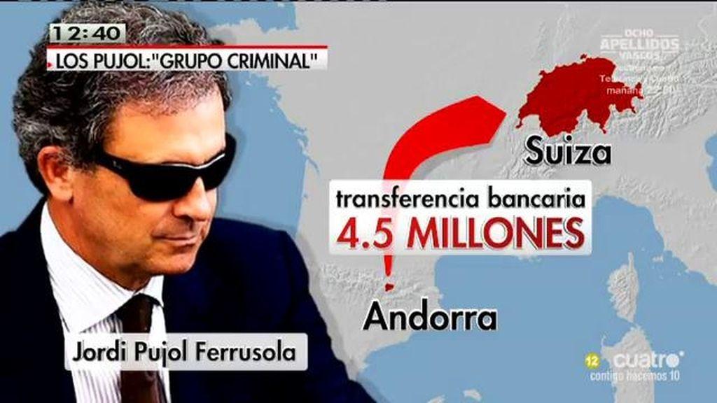Pujol Ferrusola fue titular de una decena de cuentas en Andorra con 47 millones