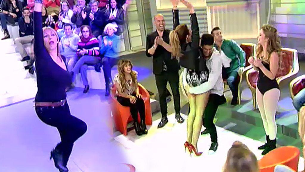 Amelia también se atreve con Flashdance