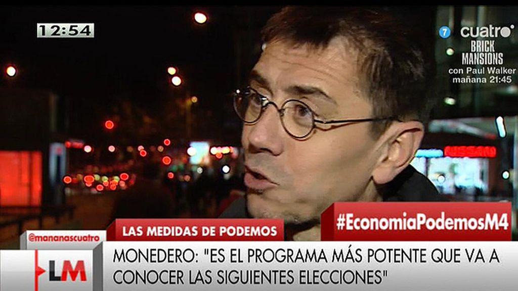 """""""Ni PP ni PSOE tienen sus programas ¿Por qué nos lo exigen a nosotros?"""""""
