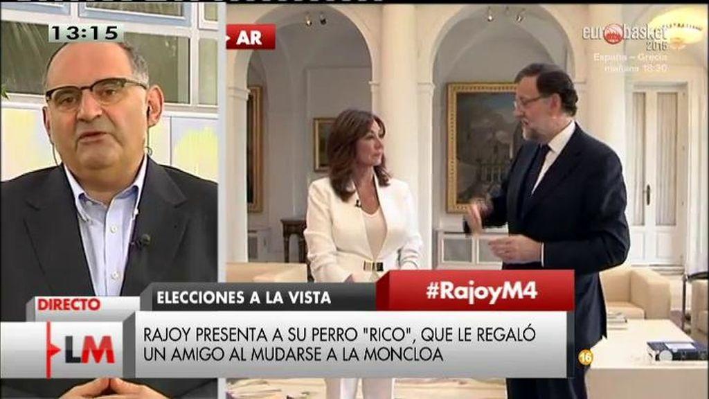 """Antón Losada: """"Hemos entrado en el entorno 'Mariano Friendly Premium"""""""