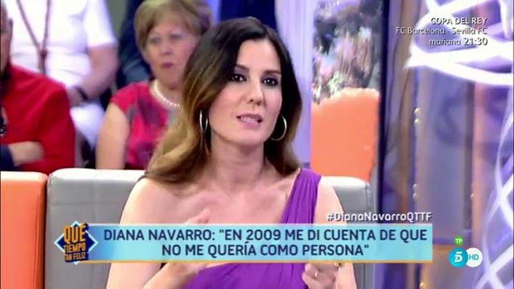 """Diana Navarro: """"La artista me salvó, me maquillaba y la pena iba por dentro"""""""