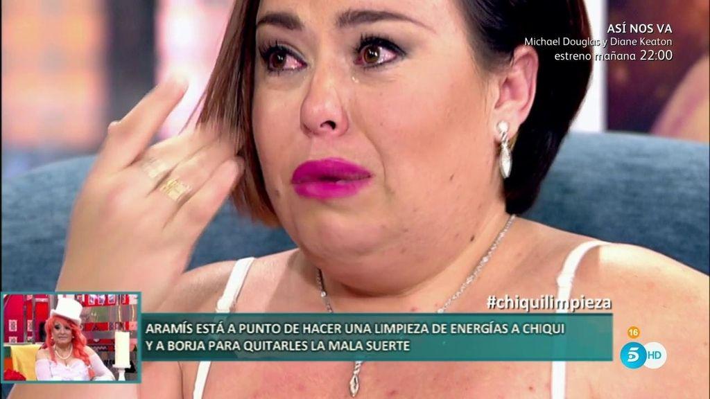 """El infierno de Chiqui y su novio: """"Lo estamos pasando fatal y no quiero depender de nadie"""""""