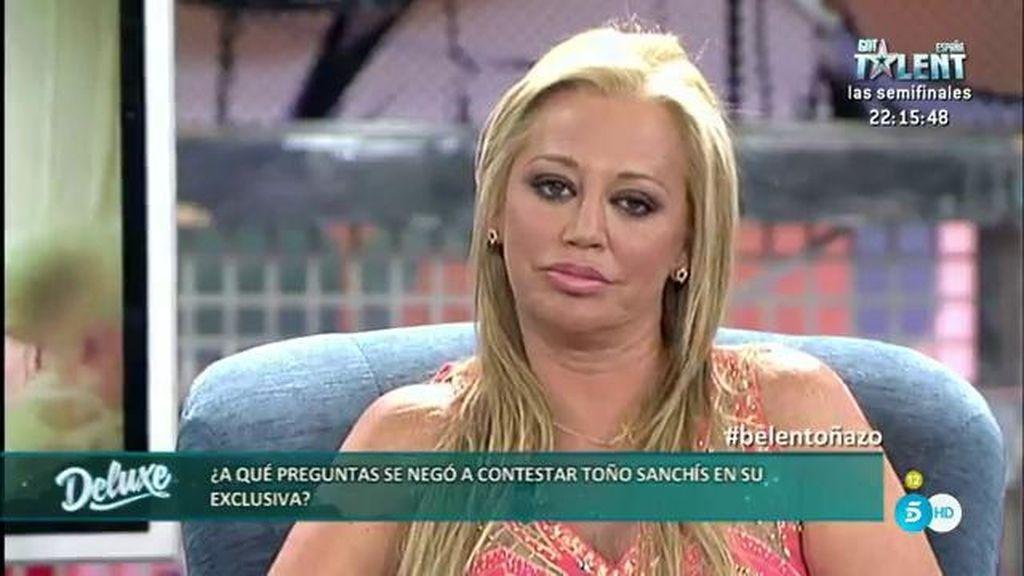 La entrevista íntegra de Belén Esteban en el 'Deluxe'