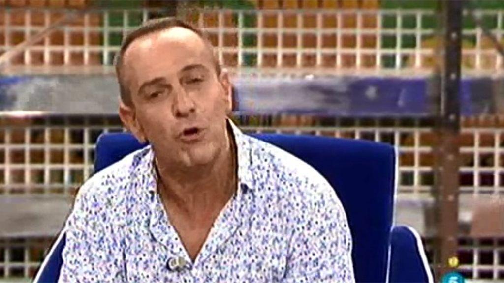 Víctor Sandoval, emocionado con la defensa de Kiko Hernández
